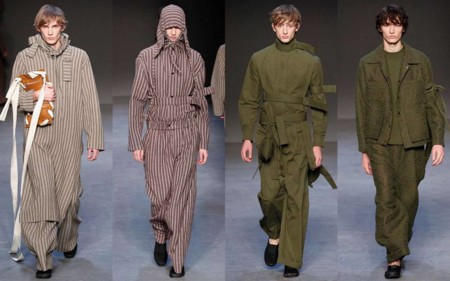 Los Anos Setenta Y El Volumen En Las Siluetas Protagonizan Los Desfiles De La London Collections Men 1