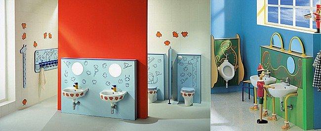 Ba os infantiles de fantas a de ponte giulio en for Ideas para decorar banos infantiles