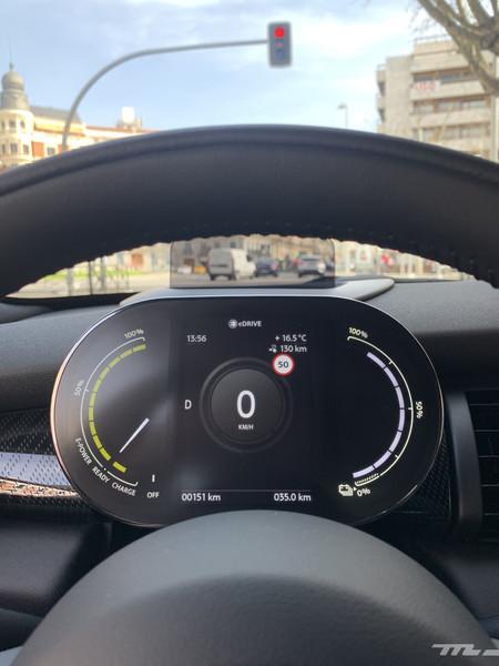 MINI Electric pantalla