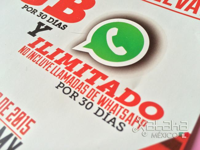 7de62370030 Confirmado, las llamadas de WhatsApp no están incluidas en ningún plan  ilimitado