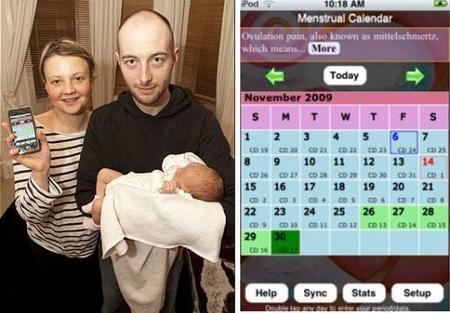 Bebé concebido gracias a un iPhone