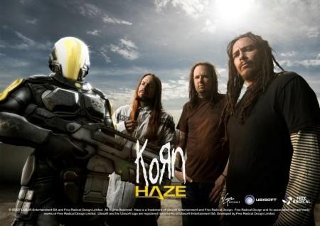 Korn y su videoclip para 'Haze'
