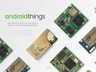 Android Things quiere ser el nuevo sistema operativo del Internet de las Cosas