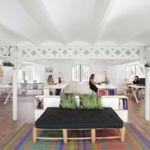 Almacenaje modular y móvil en casa y en la oficina
