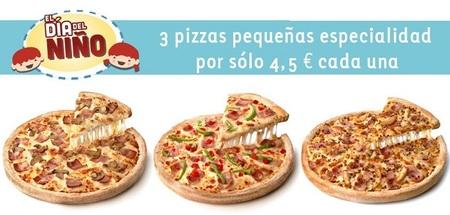 Celebra el 'Día del niño' con Telepizza