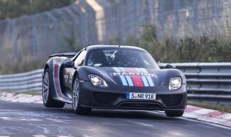 Porsche 918 Spyder, híbrido enchufable: nuevo récord en Nürburgring (vídeo)