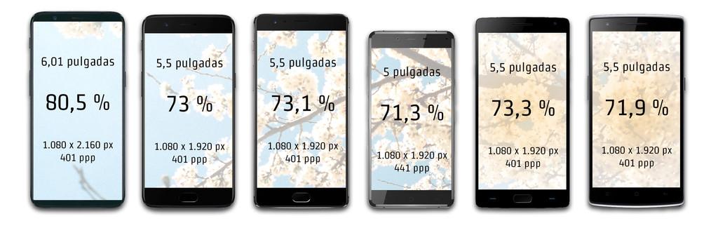 OnePlus 5T frente a sus antecesores