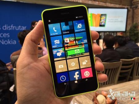 Nokia Lumia 630, primeras impresiones