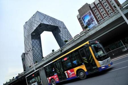 Pekín reemplazará el 80% de su flota de autobuses por otros más limpios antes de final de 2017