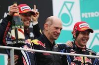 Sebastian Vettel y Red Bull vencen, y convencen, en el Gran Premio de Malasia