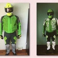 Si te para la Guardia Civil no será con este traje, porque no les ha gustado nada