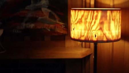 Espectacular video con el proceso para crear una pantalla de madera