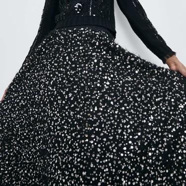 Zara tiene las faldas de fiesta que parecen de Alta Costura  para lucir en Nochevieja (y en cualquier evento con estilo)