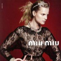 Miu Miu campaña Colección Crucero 2012: el encaje y el estilo lady caminan juntos