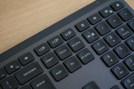 Logitech Mx Keys Teclas Perfil Bluetooth