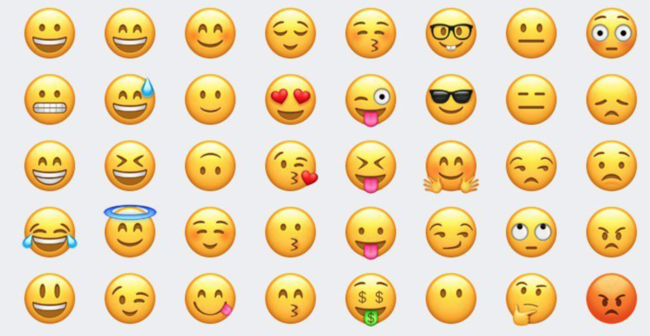 Cambios en emojis