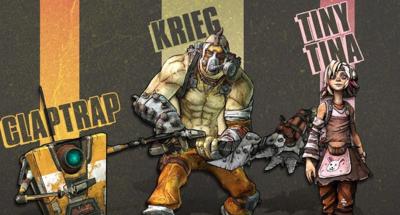 Gearbox nos dice cuáles son los personajes más populares de Borderlands