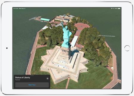 Flyover o cómo sobrevolar los puntos clave de una ciudad gracias a Apple Maps