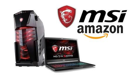 Nueva selección de equipos gaming MSI en Amazon, para que juegues un poco más barato este verano