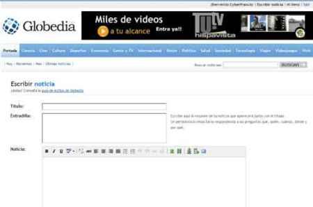Globedia, diario online creado por lectores