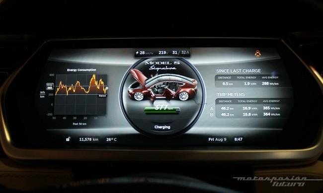 Tesla Model S prueba en Ibiza 28
