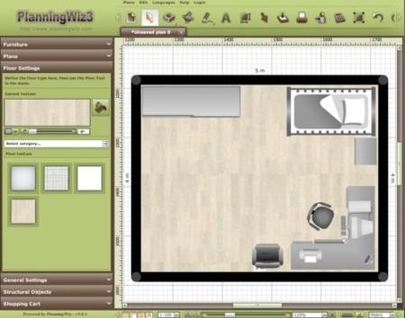 PlanningWiz, planifica tus propios lugares interiores