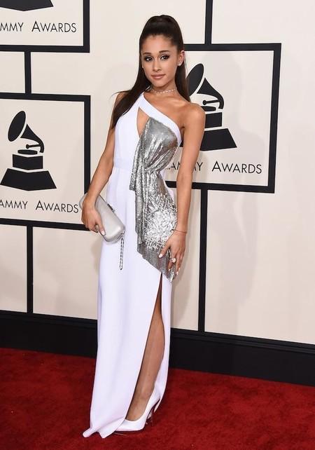 Ariana Grande y su coleta alta