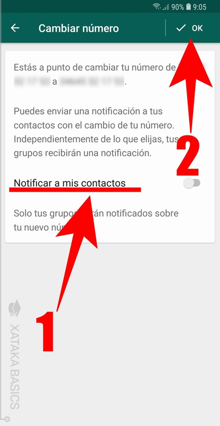 Notificar Contactos