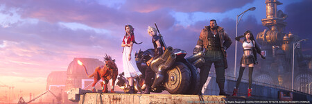Final Fantasy 7 Remake Avatars Final Fantasy Vii Remake Avatars Banner Cast