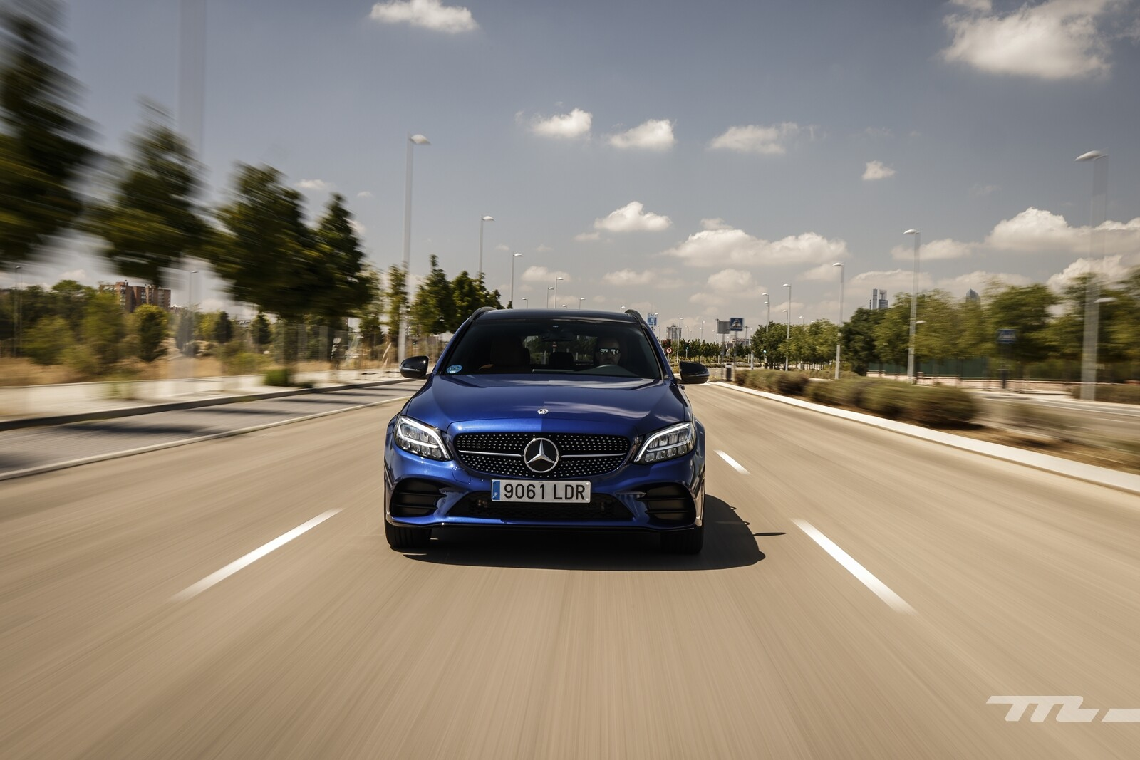Foto de Mercedes-Benz C 300 de Estate 2020, prueba (31/46)