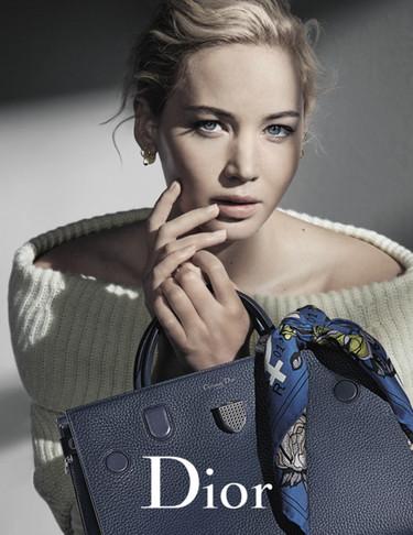 Jennifer Lawrence continúa siendo la chica Dior en la campaña Otoño-Invierno 2016/2017