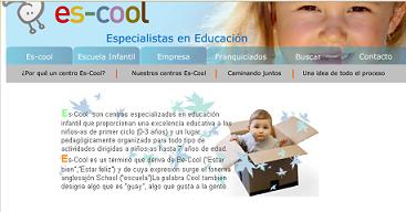 Es-cool, nuevo concepto en la educación de los niños