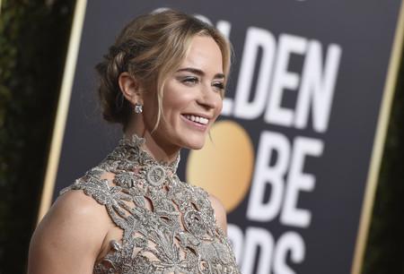 Globos de Oro 2019: el metalizado de Emily Blunt que nos obsesionará durante meses