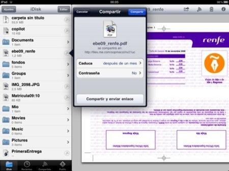 iPad iDisk