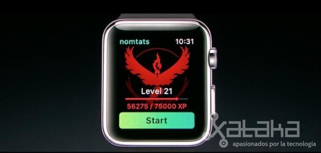 'Pokémon Go' hace su debut en Apple Watch
