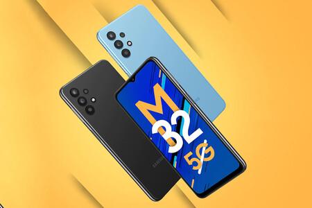 Samsung Galaxy M32 5G: lo último en conectividad, gran batería y cámara cuádruple