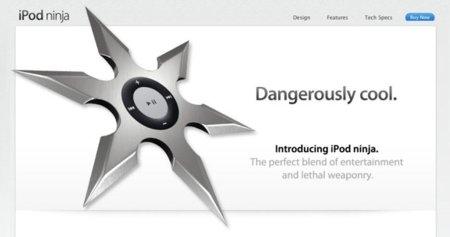 Imagen de la semana: Presentamos el nuevo iPod ninja