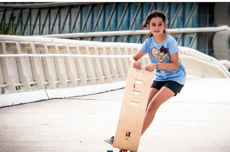 """Skooboard: la solución para que niños pequeños puedan disfrutar del """"skate"""" con seguridad"""