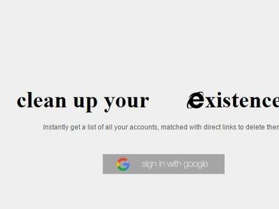 Esta herramienta te ayuda a darte de baja de la cientos de sitios en internet