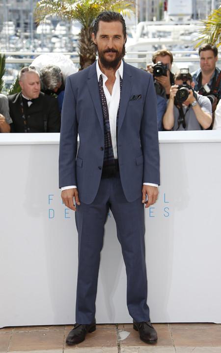 Matthew McConaughey en Cannes 2015
