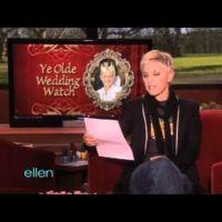Ellen DeGeneres es prima de Kate Middleton y ¡se olvidaron de invitarla!