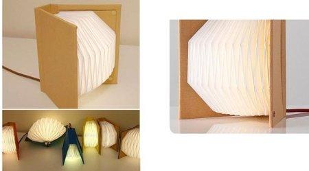 Book Table Light, una lámpara con forma de libro