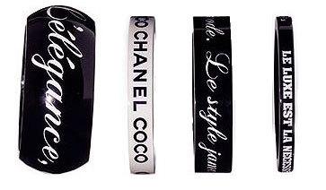 Brazaletes Chanel