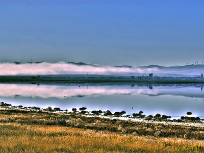 Citas para fotografiar el otoño: la laguna de Gallocanta, Aragón