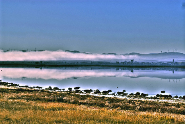 Laguna Gallocanta otoño