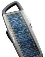 Cargador híbrido de Solio, solar y eléctrico