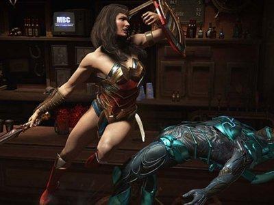 Injustice 2 nos deja ver a Wonder Woman y Blue Beetle