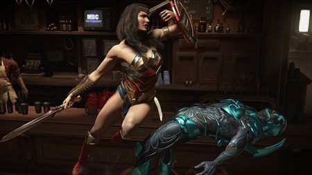 Injustice 2 nos deja ver a Wonder Woman y Blue Beetle