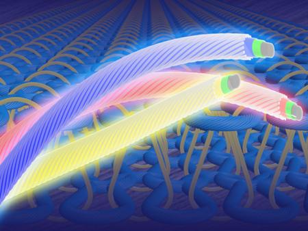 Con estas fibras textiles que emiten luz, tu fondo de armario dejará de ser monótono