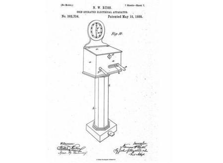 En 1886 las máquinas de vending se diseñaban para dar calambres, no refrescos [Actualizada]